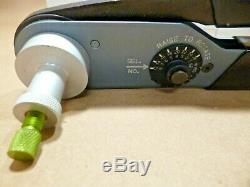 Deutsch TE Application HDT-48-00 Hand Crimp Tool 20-12AWG Terminals, DT Series