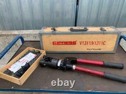 Elpress V 1311 Hydraulic Hand Crimp Crimping Tool Cembre Klauke