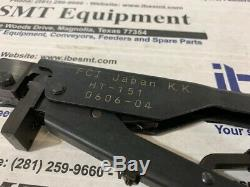 FCI Japan Hand Crimper Tool Rectangular Contacts HT-151 with Warranty