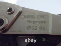 Geberit Mapress 22 Cu M0505 0053 Hand Crimping Tool