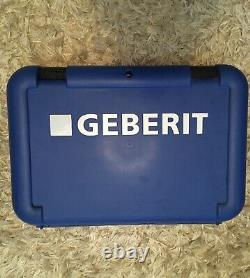 Geberit Mepla Hand Crimping Pliers 16,20, 26, Crimping Tool with Case