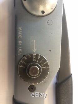 Genuine Deutsch Hand Crimping Tool For Use With DT & DTM Series & More HDT-48-00