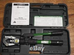 Greenlee HK12ID Hand Hydraulic Dieless Crimping Tool