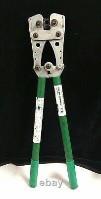 Greenlee K09-2GL Crimping Tool 8-4/0 CU Hand Crimper Tool