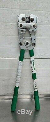 Greenlee K09-2SPGL Hand Crimper Crimping Tool 8-4/0 AWG