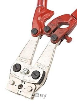 HDT-04-08 Size 4 and 8 Large Hand Crimp Tool Solid