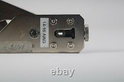 HRS 1132 14-16 QR/PI-SCIB 14-16AWG Hand Crimp Tool Crimper