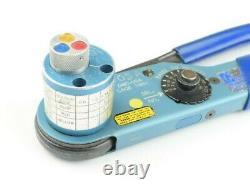 Hand Crimp Tool 8-Step Adjustable Crimper Glenair DMC AF8 M22520/1-01 With TH592