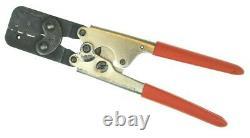 Hand Crimp Tool Electrical Cable Ratchet Crimper 18-26 AWG Molex HTR2445A