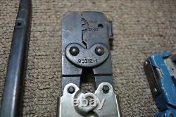 Hand Crimper Lot 11 Tools AMP 59500 69600-4 90312-1 69140-1-R Used
