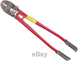 Hand Swager Swagging Crimping Tool withBuilt-in Cable Cutter HIT Tools-Choose Size