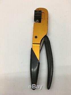 Hand Terminal Crimping Tool M22520/5-01 Balmar Manual Compression
