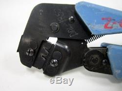 Hand Tool, Mate-n-lok, 30-24 Awg Die 90870-2 Te Connectivity Amp Crimp Crimping