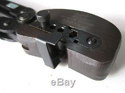 Hand crimp tool, rachet, PIDG terminal and splices, 59239-J, AMP