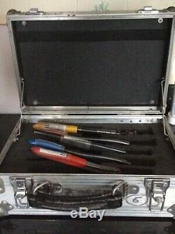 Hand crimp tool set, signalling technicians crimping tool case S&T
