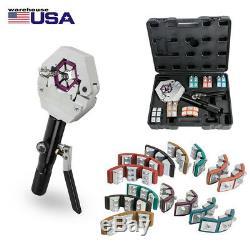 Hand-held Hydraulic Hose Crimper Crimping Tool Kit Conditioner Automotive Repair