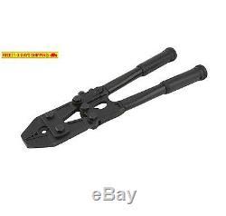 Hi-Seas Heavy Duty Hand Swaging Tool, For 0.8 Millimeter To 3.3 Millimeter Crimp