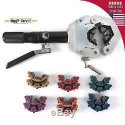 Hose Tool Crimper Hydraulic Crimping Kit 71500 A/C Air Manual Set Hand Fittings