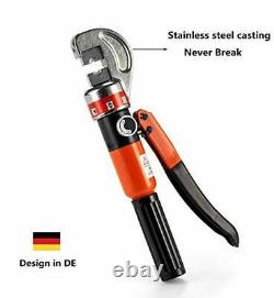 Hydraulic Cable Crimper Hand Tool for 1/8, 3/16 Stainless Steel Cable Railing
