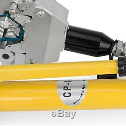 Hydraulic Hose A/C Crimping Tool With Manual Pump 7 Die Hand US Stock Ferrules