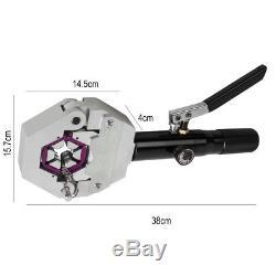 Hydraulic Hose Crimper Tool Kit Hose Automotive Air Conditioner Repair Hand Tool