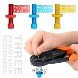 IWISS HD-2612D Deutsch Connector Tool Crimper Harley Caterpiller Hand Tool