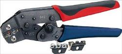 IZUMI Manual One-Handed Crimping Tool for Insulation/Bare Terminal 34S JAPAN