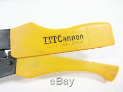 Itt Cannon Cht-sle 20-18 Awg 16 Awg Hand Crimp Tool