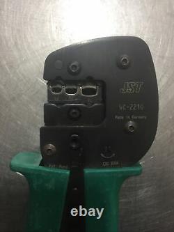 JST WC-2210 HAND CRIMPING TOOL Crimper