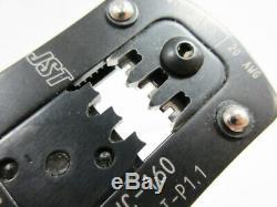 Jst Wc-160 Tool Hand Crimper # 18 22 Awg Side
