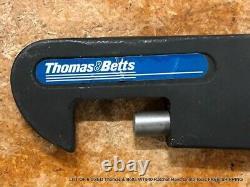 LOT OF 6 USED Thomas & Betts WT540 Ratchet Hand Crimp Tools FREE SHIPPING