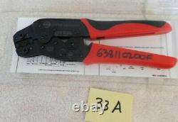 MOLEX 638110200F Molex Tool Hand Crimper 28-32 Male Female with Tool