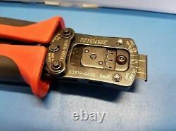 MOLEX 63819-4600 Crimper Hand Crimp Tool CLIK-Mate 24-28AWG