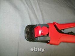 MOLEX 638190000 C HAND CRIMP TOOL 20-30 AWG W 638190075 LOCATOR 63819-0000 Nice