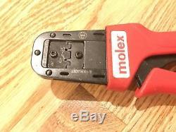 MOLEX 63827-7800A/B HAND CRIMP TOOL 0.35 0.3 mm2 AWG CRIMPER 638277800A/B