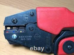 MOLEX 640010300E RHT-1993 full ratchet hand crimp tool