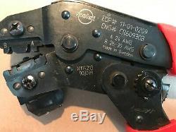 MOLEX HAND CRIMP TOOL 11-01-0209 for 24 30AWG MOLEX C-GRID SL SERIES TERMINALS