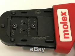 MOLEX HAND CRIMP TOOL 63819-1000 / For 22-28AWG MiniFit Jr. Crimp Terminal