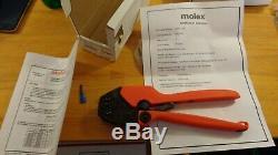MOLEX full ratchet hand crimp tool 640011100