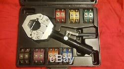Mastercool 71500 A/C Hand-Held Hydraulic Crimping Tool