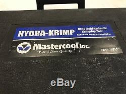 Mastercool 71500 Hydra-Krimp Hand Held Hydraulic Crimping Tool