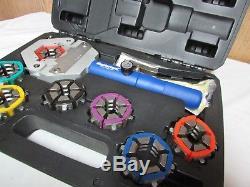 Mastercool Hydra-Krimp Hand Held Hydrolic Crimping tool set item#F2-22