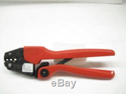 Molex 064001-0400 Hand Crimp Tool #10-22 Crimper Calibrated