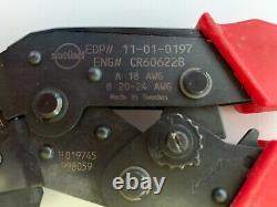 Molex 11-01-0197 Cr60622b Crimping Tool Hand Tool 18 24 Awg