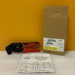 Molex 11-01-0208 22-24, 30-36 AWG Hand Crimp Tool. New In Box + Instructions