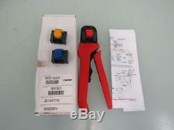 Molex 2002182200 Crimper Hand Crimp Tool, Male and Female Crimp for Mini-Fit Jr