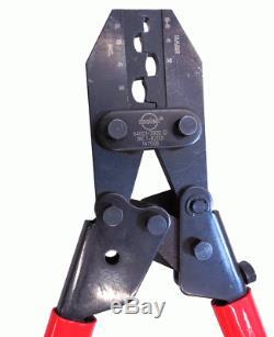Molex 207129 Series 8-2 AWG Hand Crimp Tool 64001-3900