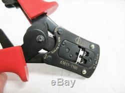 Molex 63811-1100 Hand Crimp Tool Hcs-125 Pin & Socket Crimp Terminals