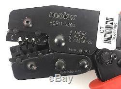 Molex 63811-5200 Hand Crimping Tool #41084