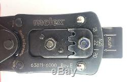 Molex 63811-6000 Hand Crimping Tool #41071